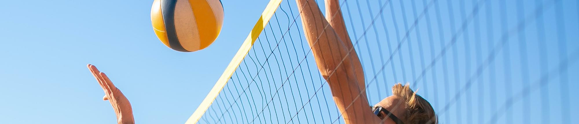 Afterwork beach volleyball tournament